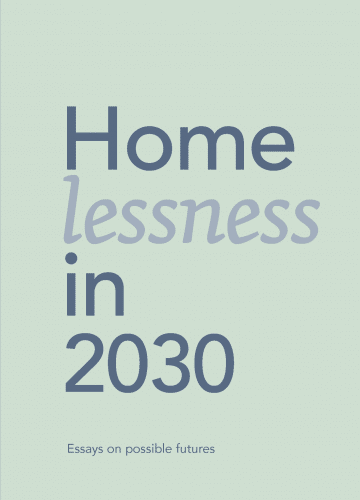 Y-Foundation Homelessness in 2030 Cover